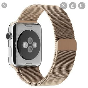 Accessories - Tan magnetic apple watch band